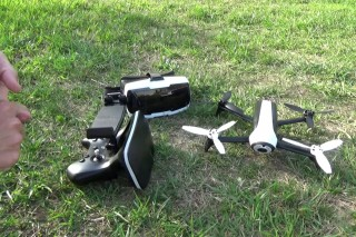 The BEST Drone For YouTube Creators – Parrot Bebop 2 FPV Skycontroller
