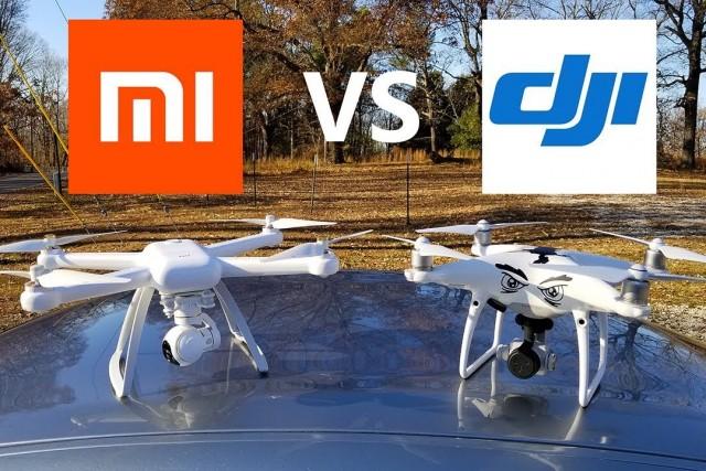 XIAOMI MI Drone vs DJI Phantom 4 Pro – KEN HERON