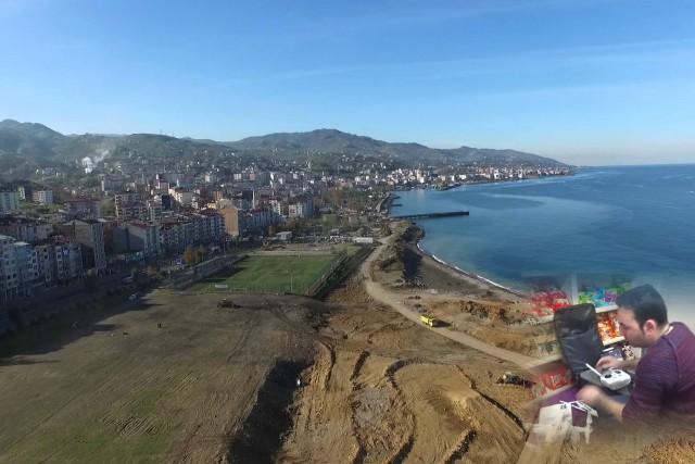 Dji phantom 3 Trabzon / Türkiye  ilk uçuş için bilgileri (first flight)