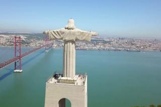LISBOA – LISBON – LISSABON – PORTUGAL – AERIAL VIEW – DRONE VIDEO – 4K