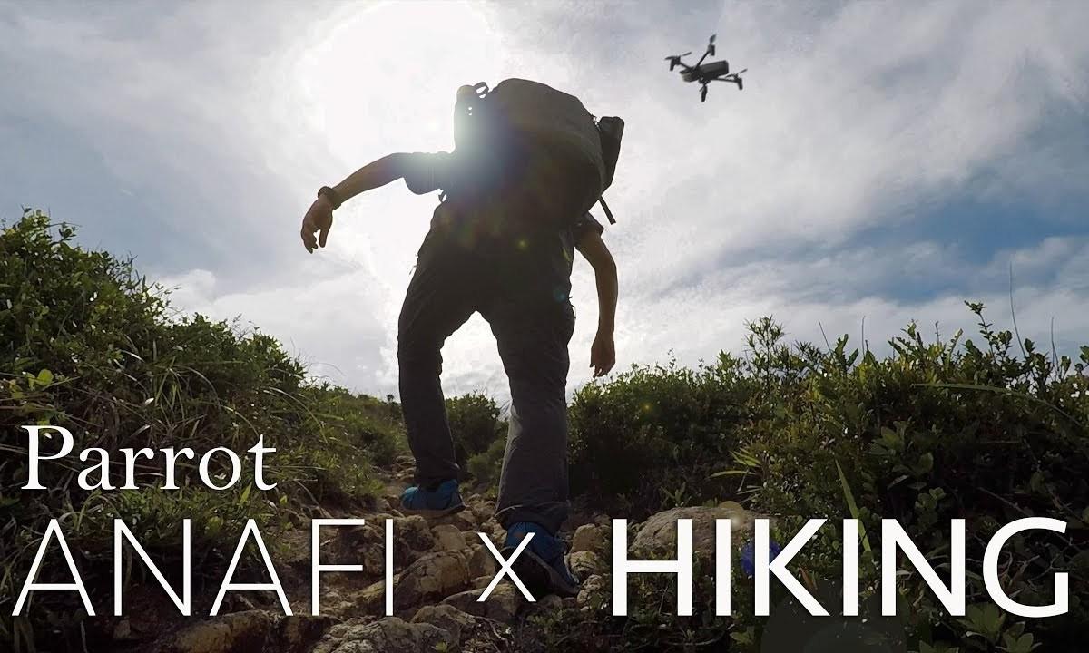 Parrot Anafi, Hiking at PoPinChau (by Aerial Era) [4K]