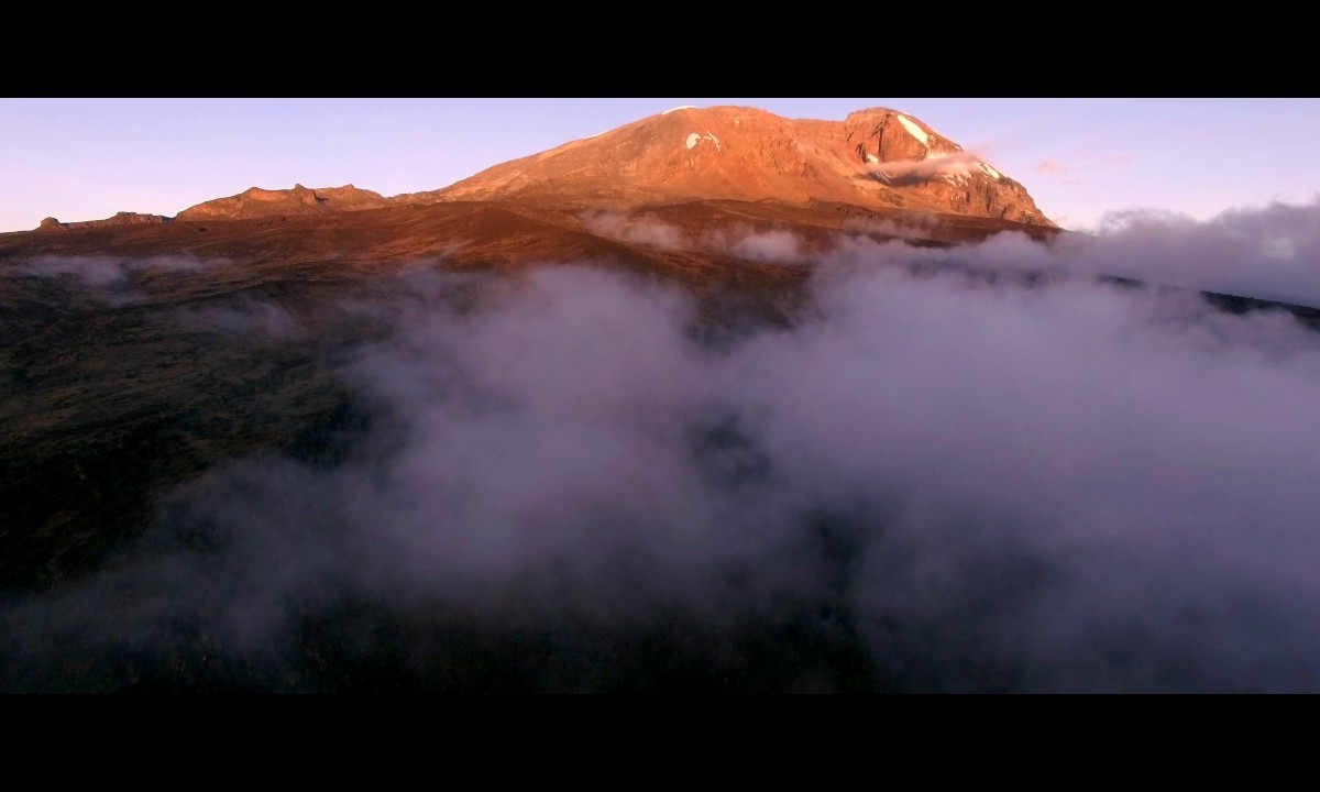 Tanzania Mount Kilimanjaro Drone VIdeo