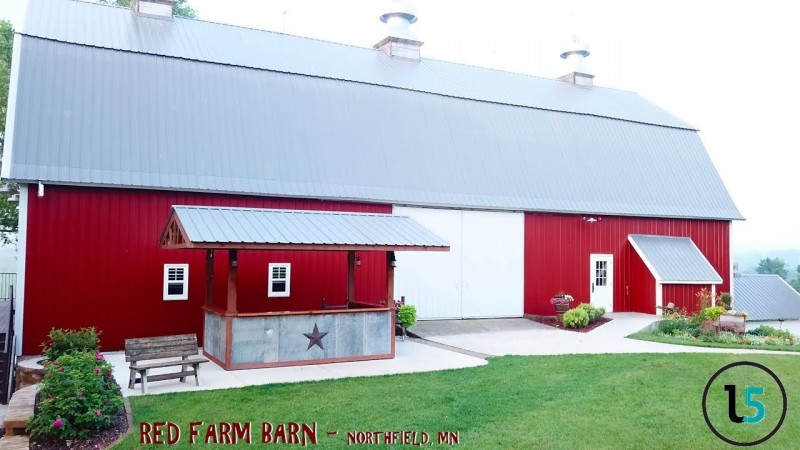 Red Barn Farm Drone Video by Launch5 Media