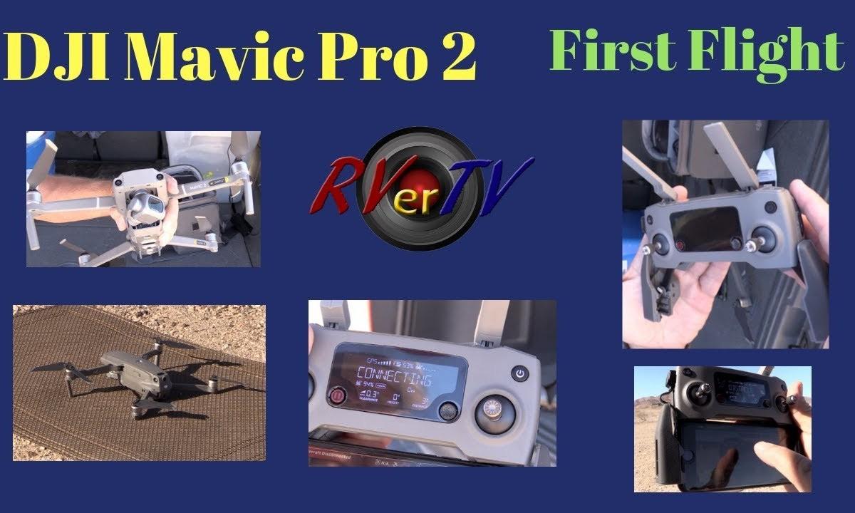 DJI Mavic Pro 2 First Flight…New Drone… 4K Footage.. Quartzsite AZ