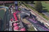 Park Rozrywki Energylandia – Boomerang Roller Coaster – Drone