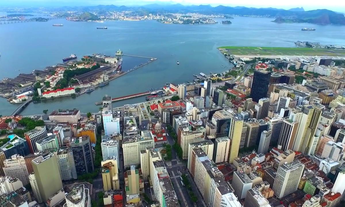 DJI: Rio de Janeiro – OldTown – Brasil – Drone Video – Daytime