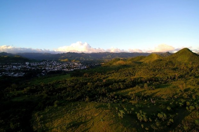 Coamo, Puerto Rico Sunset –  Drone Video Oct 20, 2018