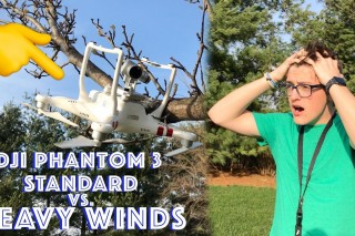 Can the DJI Phantom 3 Standard Survive EXTREME Winds??