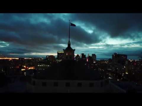 Warriors drone video