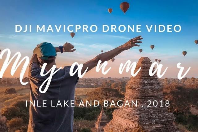 Myanmar 2018 Drone Video