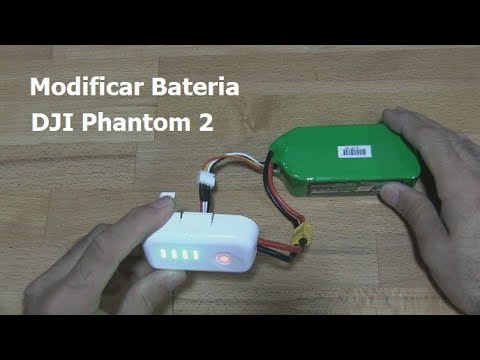 Modificar bateria DJI Phantom 2 Battery Mod