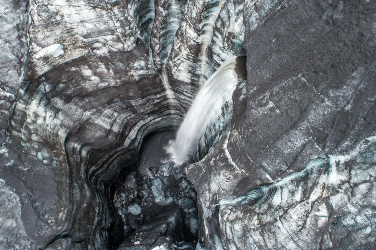 River glacier