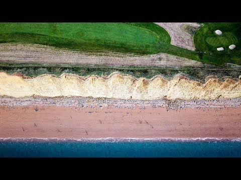 4K Footage of the Jurassic Coast in Dorset UK