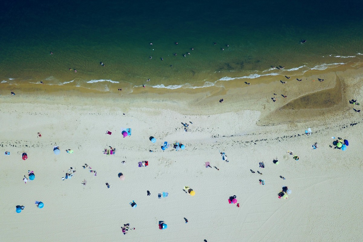 Afternoon at the beach in Arcachon