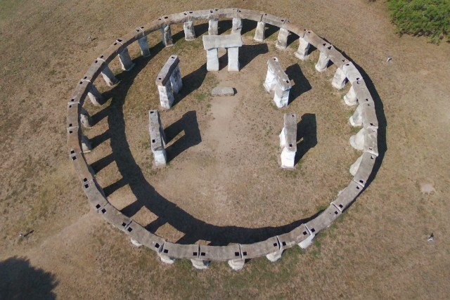 Stonehenge II in Texas