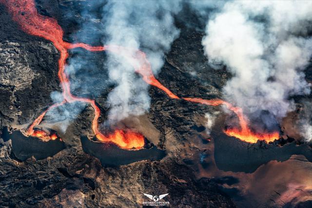 Les 3 volcans – Piton de la fournaise