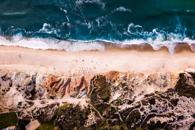 Incredible Coast shot by @dronefilmingbelgium