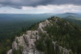 Ural Mountain Aleksandrovskaya hill. Russia, Middle Ural