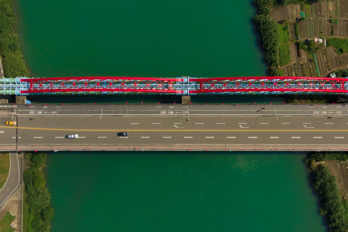 Top-Down Photos – Bridge in Taipei