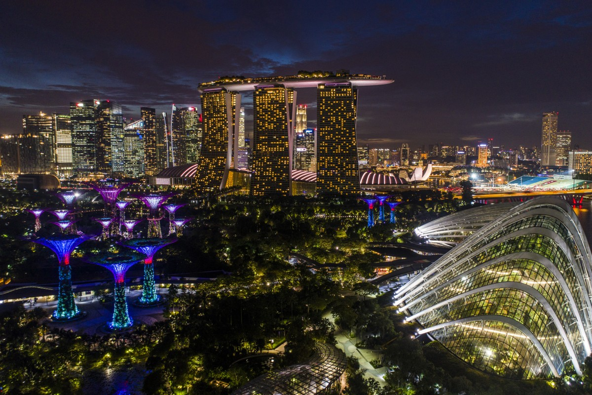 Marina Bay by Night