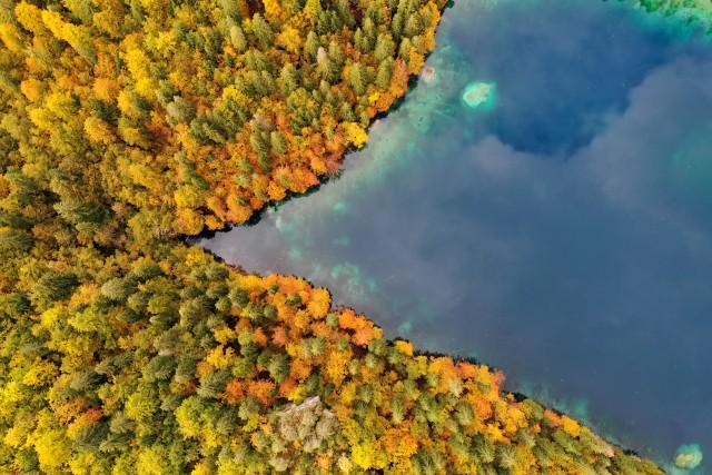 Autumn Lago die Fusine