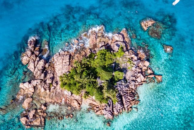 St. Pierre Island, Praslin, Seychelles
