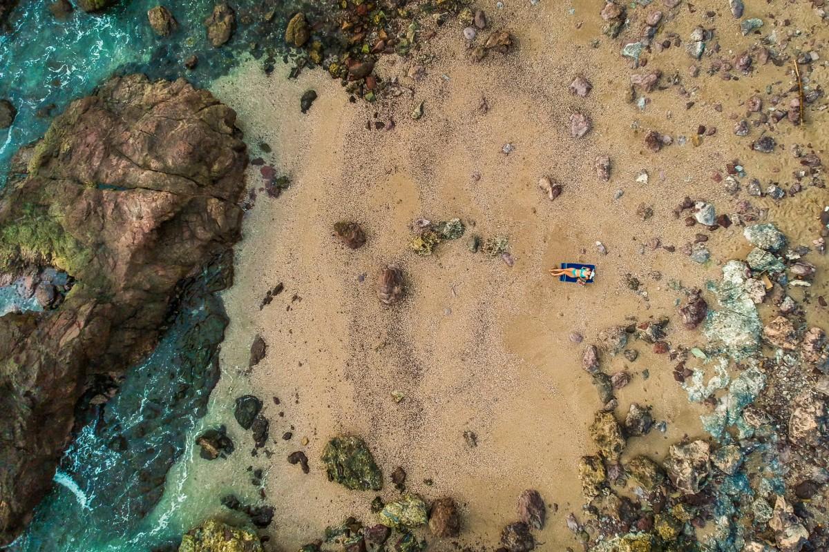Hidden Beach at Mazatlan