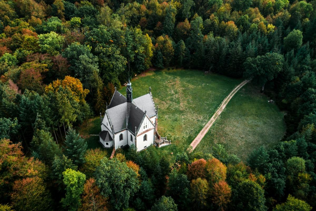 Beauties of autumn Czech republic