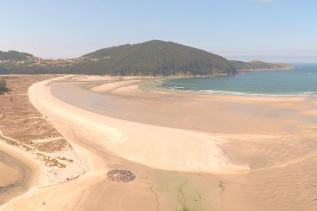 Vilarrube beach, Cedeira, Galicia, Spain
