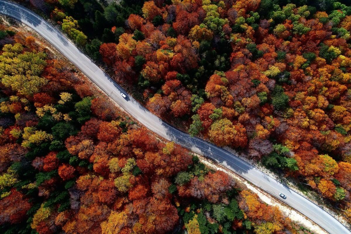 Autumn in Bursa
