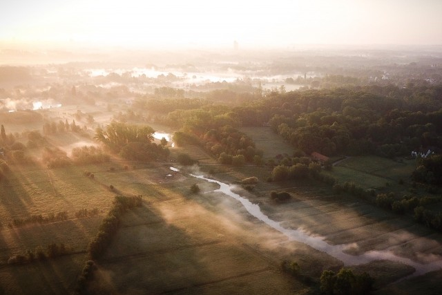 Stunning early morning shot by @dronefilmingbelgium
