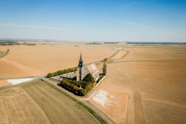 Orrouer Church, France