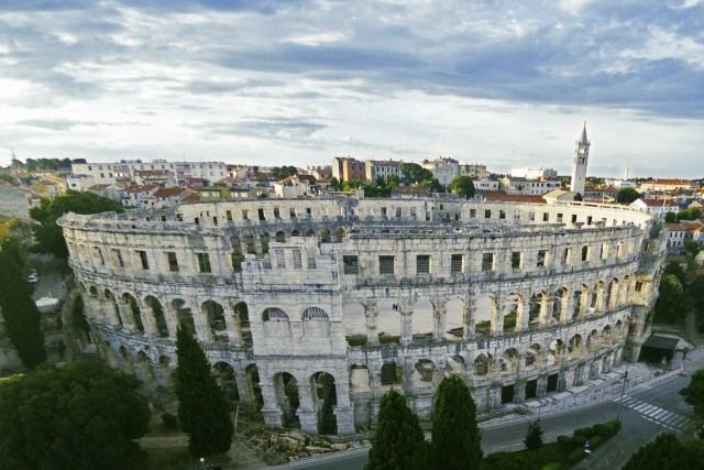Roman Gladiator Arena – Pula Croatia