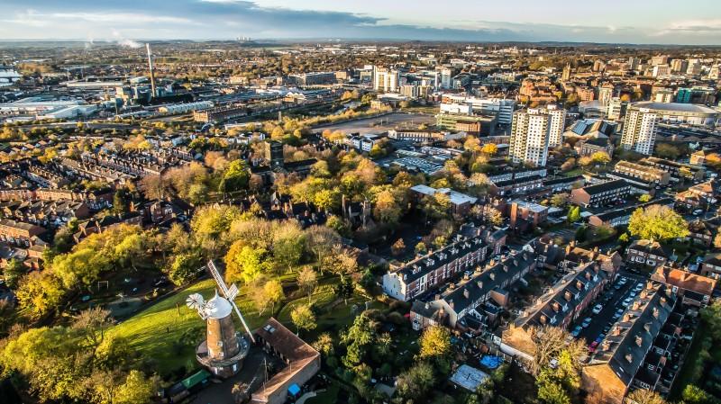 Nottingham CityScape