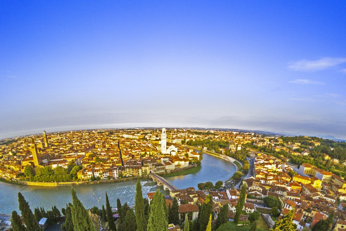 The Sun Rises on Verona