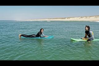 Derek & Sharon surf septembre 2018