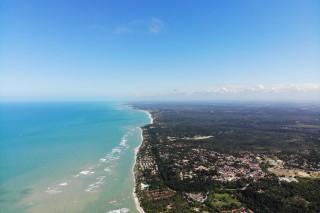 Arraial d'ajuda Bahia and Araguaia River Goias Brazil