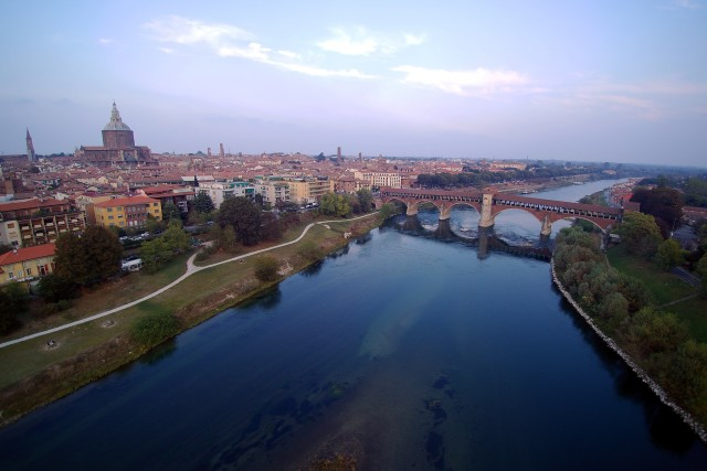 pavia – ponte vecchio – by my typhoon h – 002