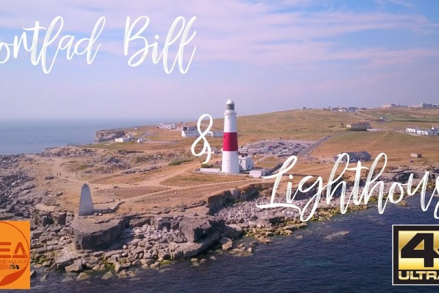 Portland Bill Lighthouse Cinematic Short Film by Drone