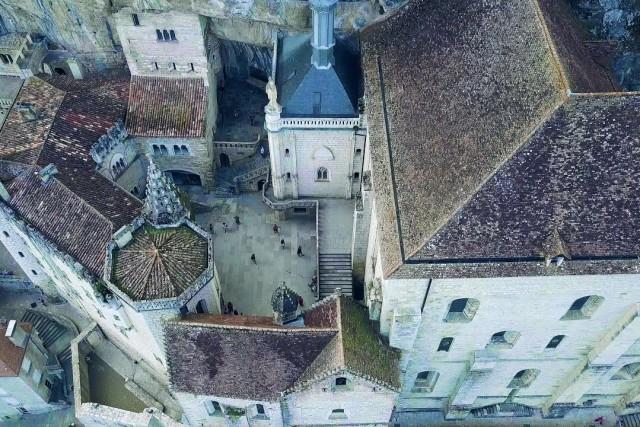 4K Footage of Rocamadour, France