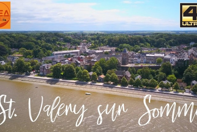 St Valery sur Somme France / Spain road trip vol. 3 by Drone