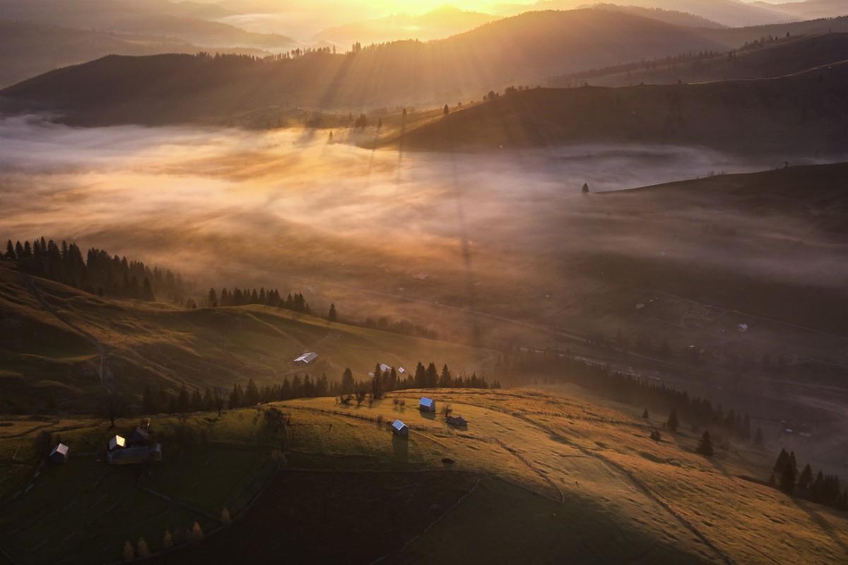 Bucovina sunrise