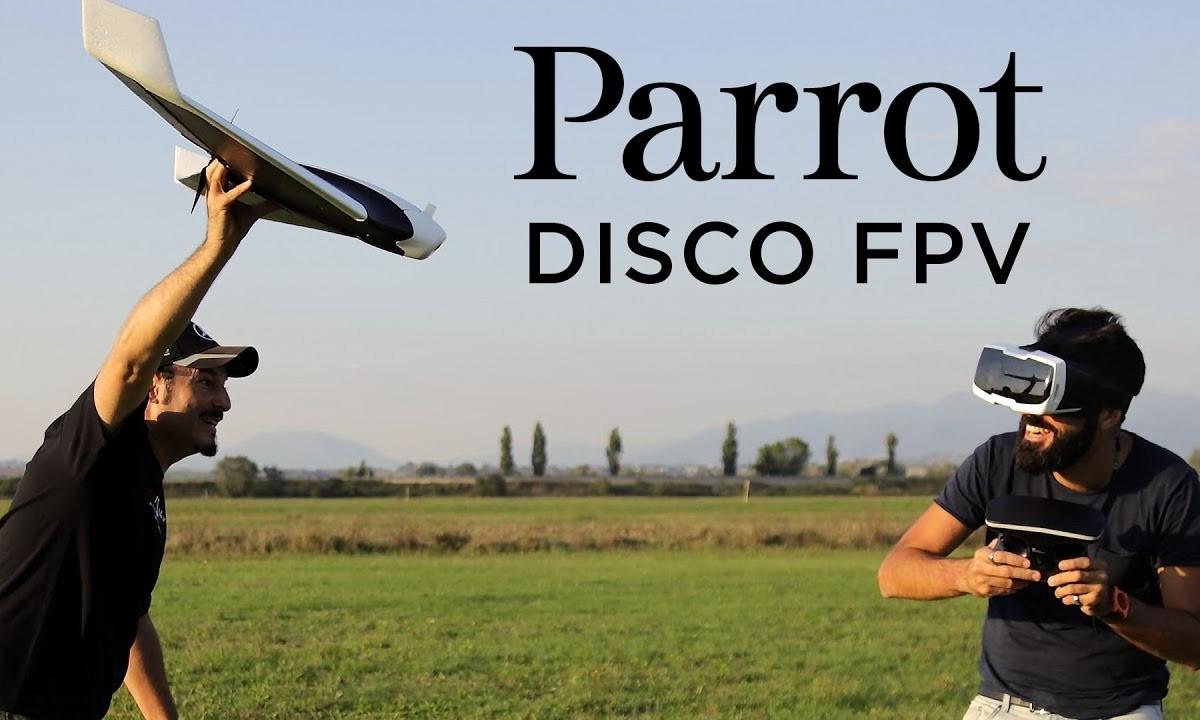 Parrot DISCO FPV – Recensione e Volo FPV [ITA] – PARTE 1