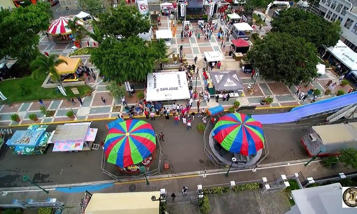Festival Del Pollo En Aibonito, Puerto Rico 2018 (Drone Video)