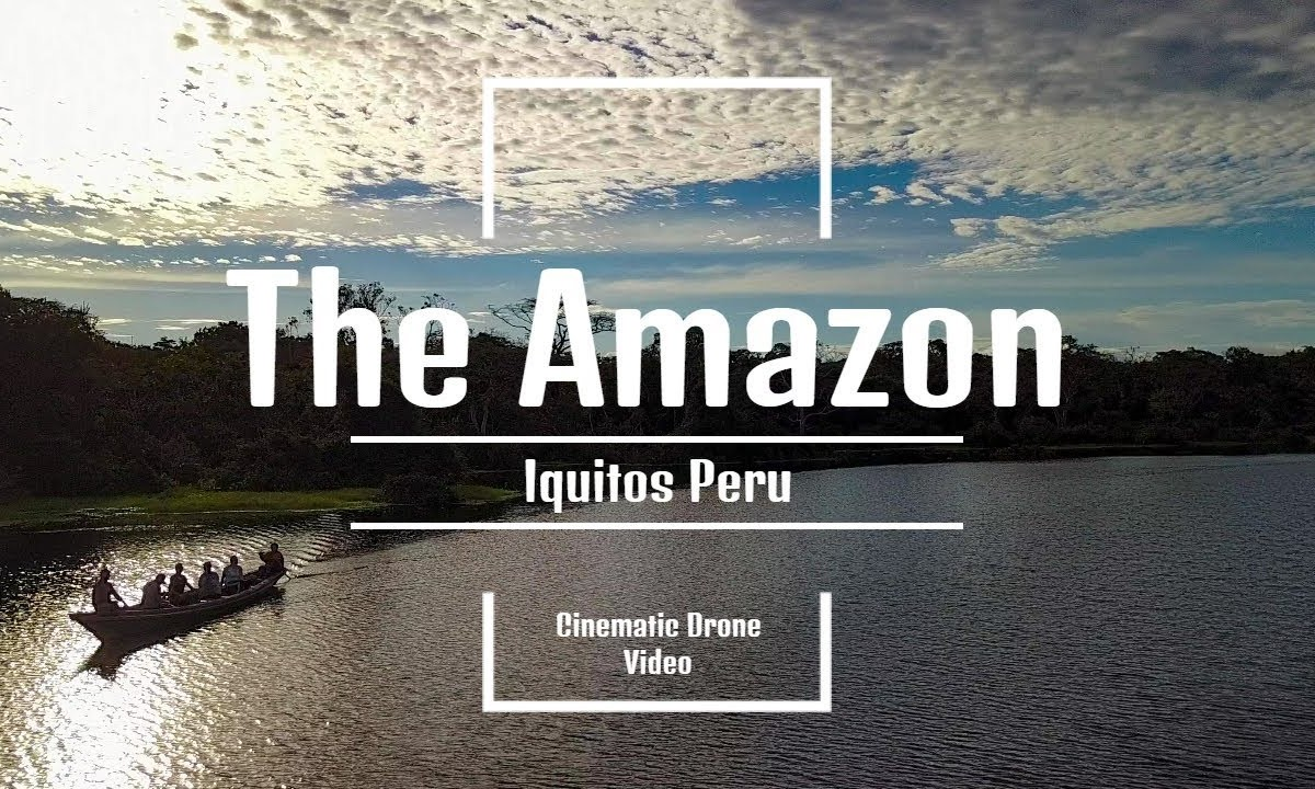 The Amazon | Iquitos Peru | Cinematic Drone Video 4K