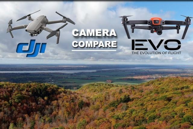 DJI Mavic 2 Zoom vs Autel EVO – CAMERA QUALITY – Canadian Fall Colors