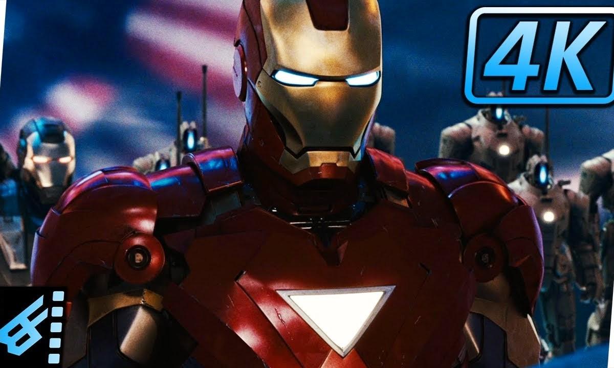 Hammer Drones Attack Iron Man 2 2010 Movie Clip Dronestagram