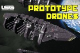 Prototype Drone Battle Vessels (CW) – Space Engineers