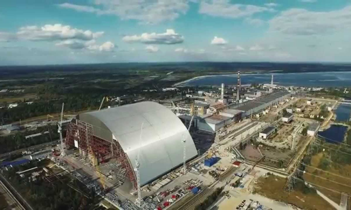 Drone footage from Chernobyl