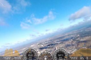 Bebop 2 (altitude 540m & Crash) Идем на рекорд высоты и скорости